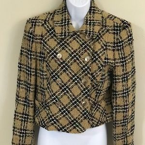 Vintage Harris/Wallace Double Breasted Blazer 6